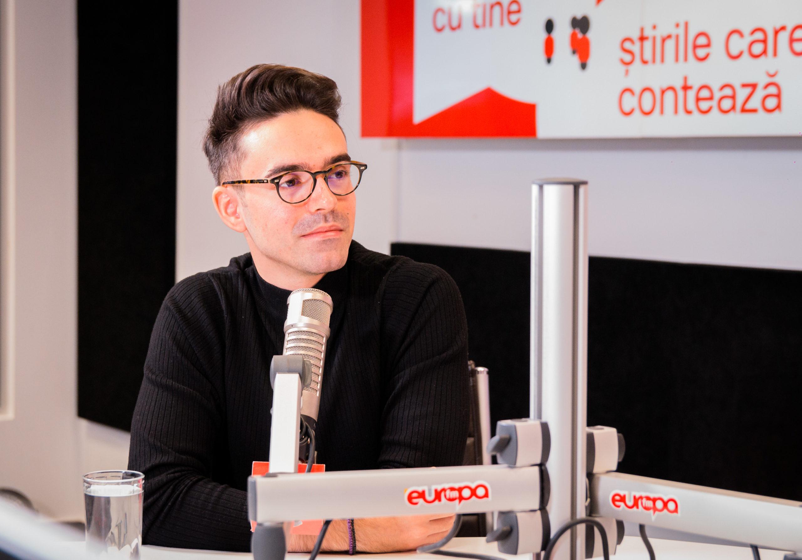 Cristian Tarcea (Monoir) interview at europafm.ro