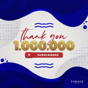 1.000.000 subscribers on Youtube!