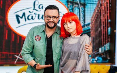 Dharia at La Maruta, Pro TV