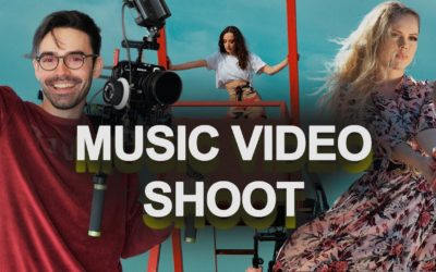 Diaries by Thrace: Music Video Shootings with MONOIR and YNGA